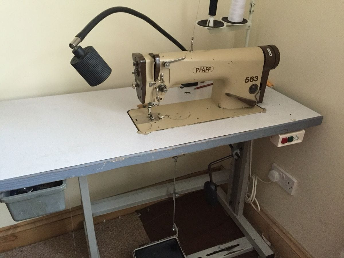 Sewing Machines Flatbed Type
